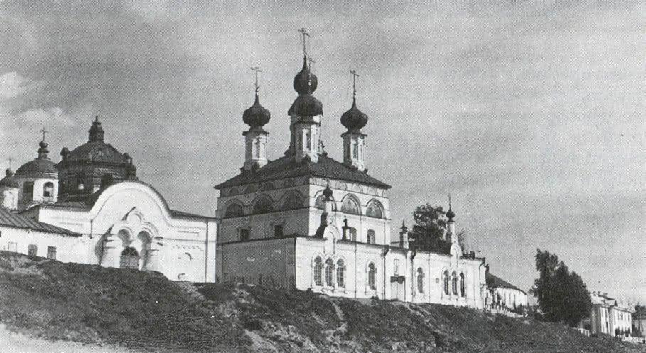 Прокопьевский собор. Общий вид с реки