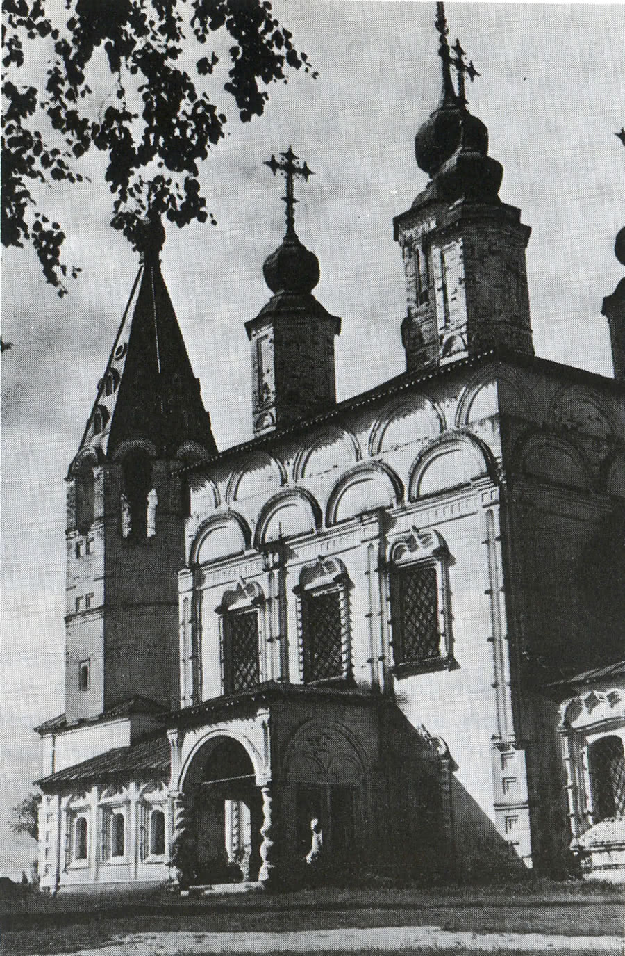 Церковь Дмитриевская в селе Дымково. Вид с юго-восточной стороны