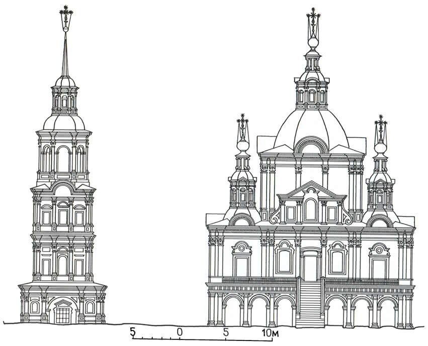 Церковь Симеона Столпника (построена в 1725—1747 гг.)