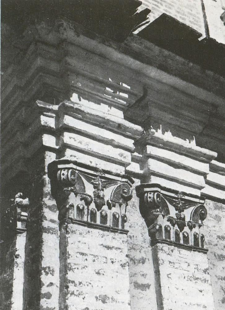 Фрагмент Фасада церкви Симеона Столпника