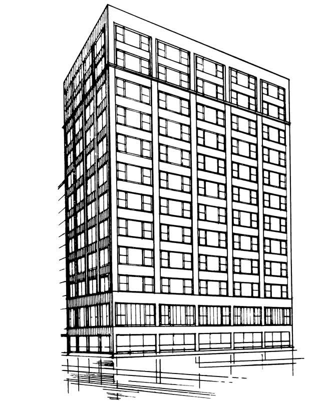 Чикаго. Либерти Мьючиал Иншуренс билдинг, 1908 г.