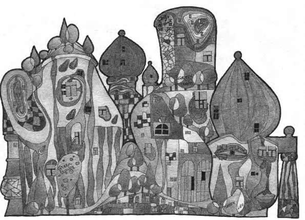 Натюрморт как прообраз архитектуры в стиле Хундертвассера