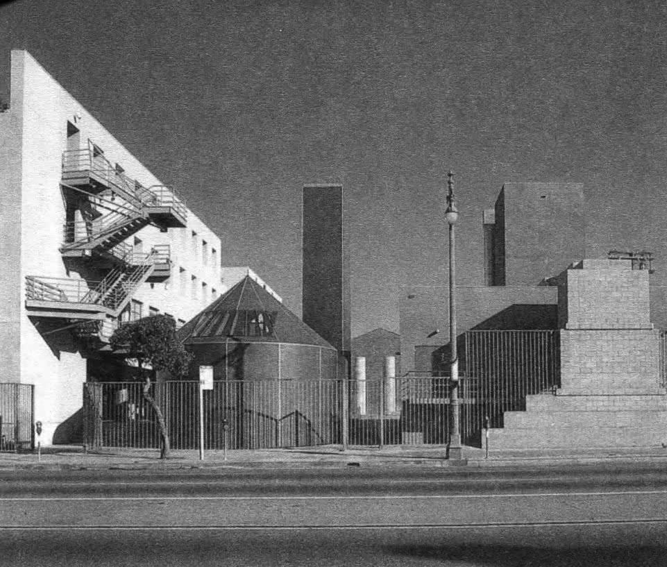 Школа Юридического права. Ф. Гери, Калифорния, 1981—1984