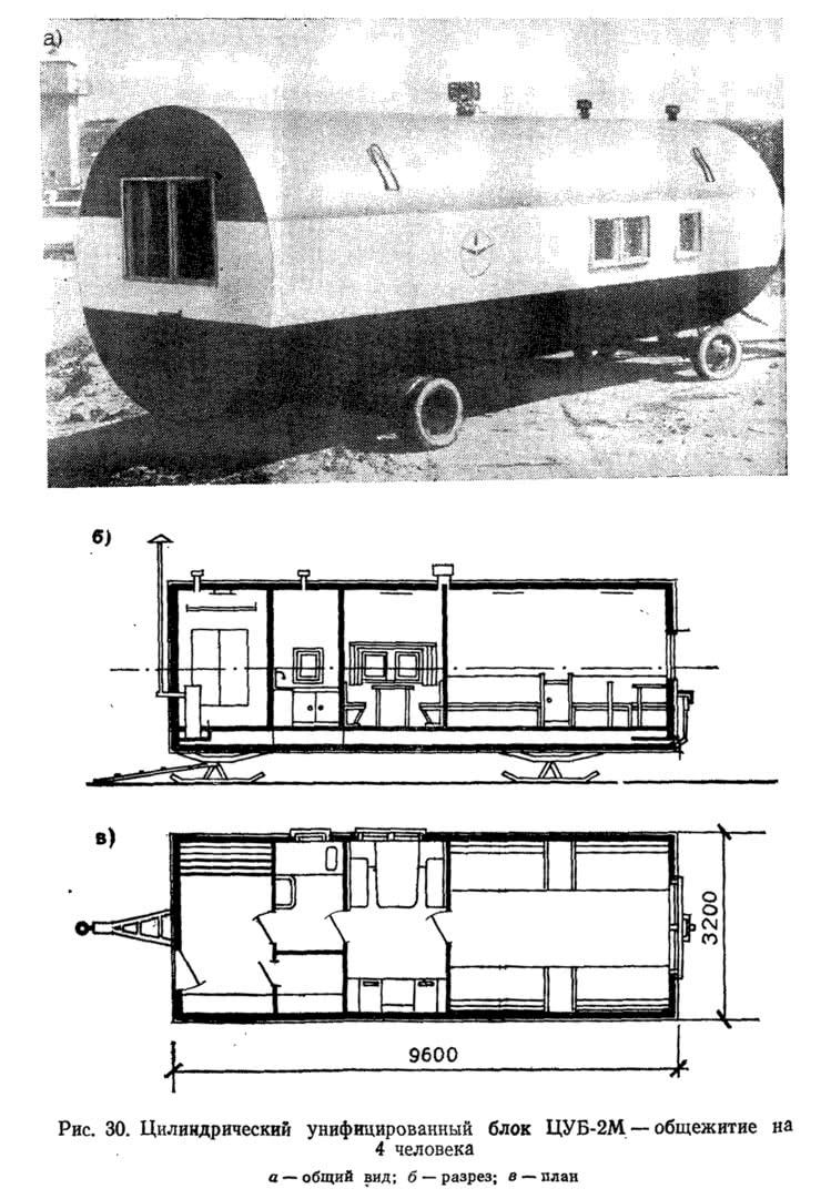 Рис. 30. Цилиндрический унифицированный блок ЦУБ-2М