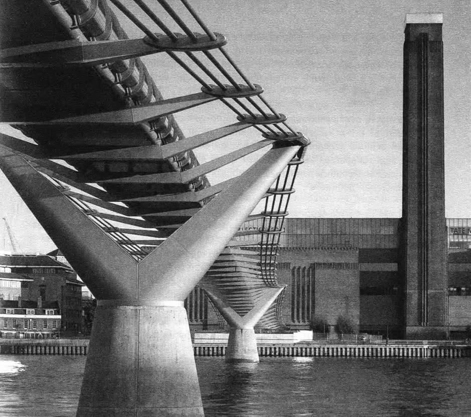 Мост Миллениум (Н. Фостер и партнеры). Лондон, 1996—2001