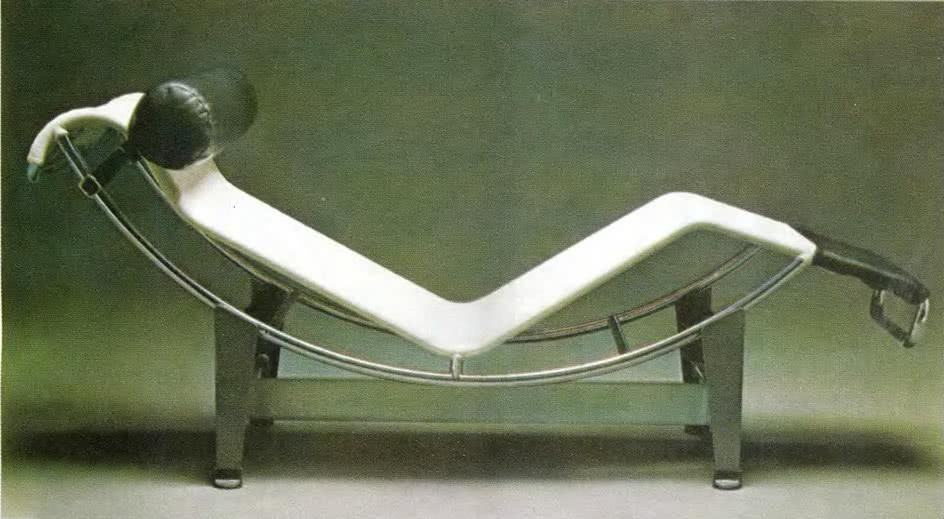 Лежанка, модель LC4. Ле Корбюзье, 1928
