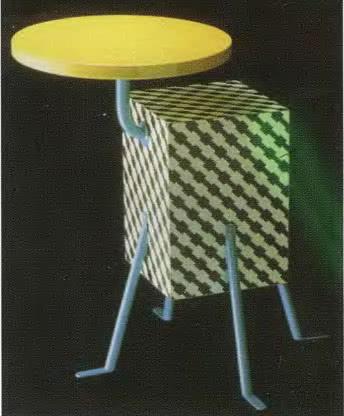 Михеле де Лукчи, столик «Kristall», коллекция Memphis, 1981
