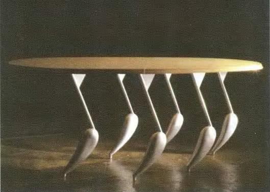Масаки Морита, «Танцующий столик», 1990