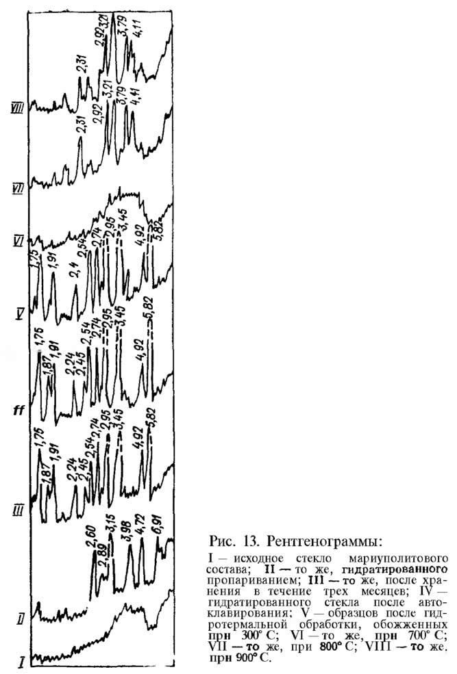 Рис. 13. Рентгенограммы