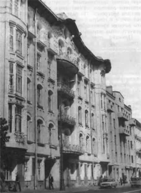 Бывш. доходный дом Исакова, Кропоткинская улица, 28. Архитектор Л. Кекушев, 1906