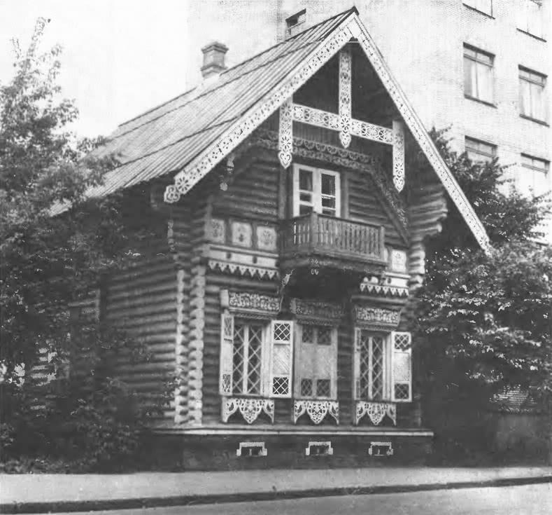 «Погодинская изба». Погодинская улица, 12. Архитектор Н.Никитин, 1850-е гг