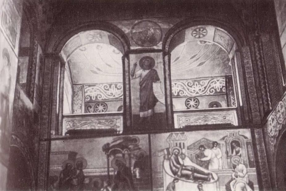 Кирилловская церковь. Центральный неф