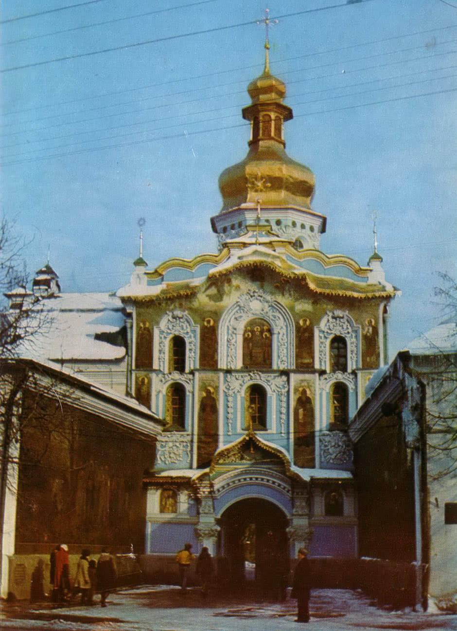 Троицкая надвратная церковь. Южный фасад