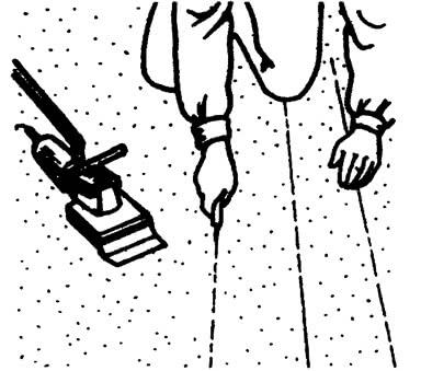 Использование монтажного ножа