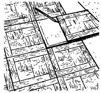 Подгонка щитов по размеру