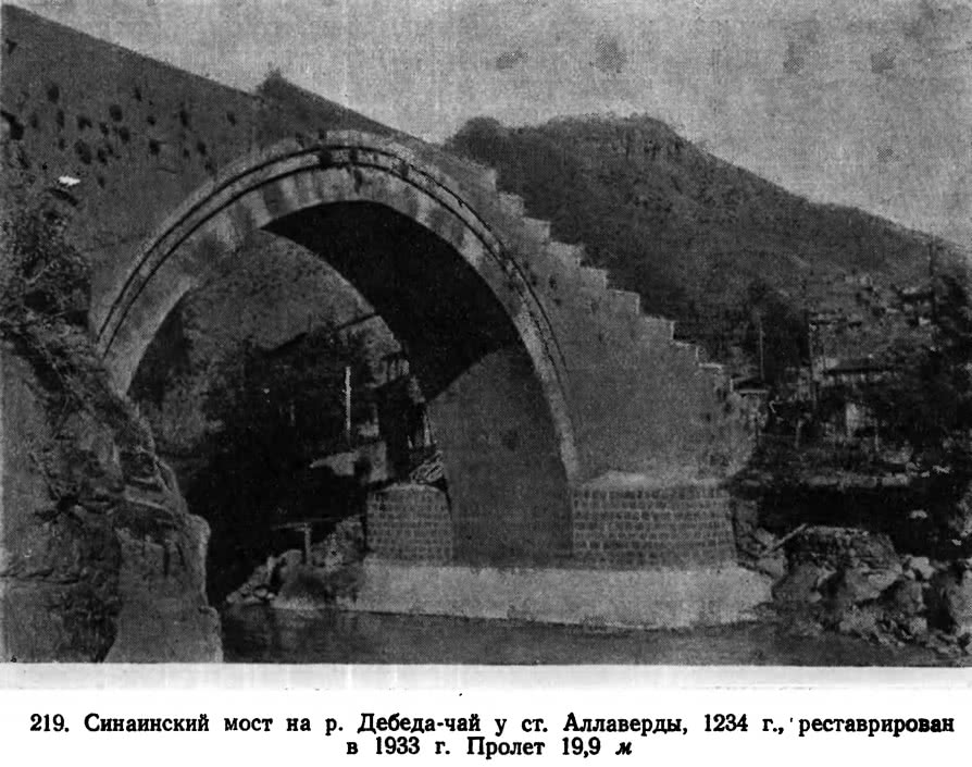 219. Синаинский мост на р. Дебеда-чай у ст. Аллаверды