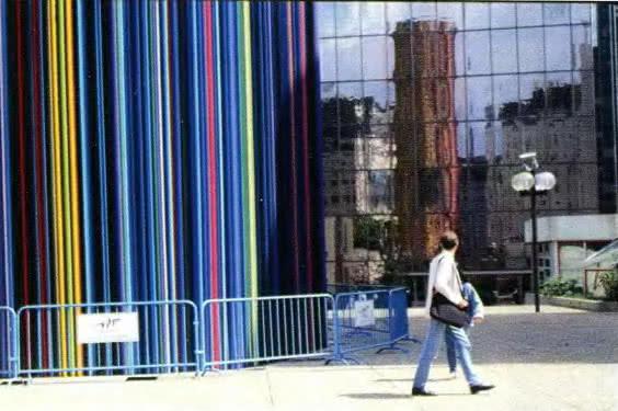 Дизайн инженерного устройства для вентиляции нижних уровней площади Де-фанс в Париже