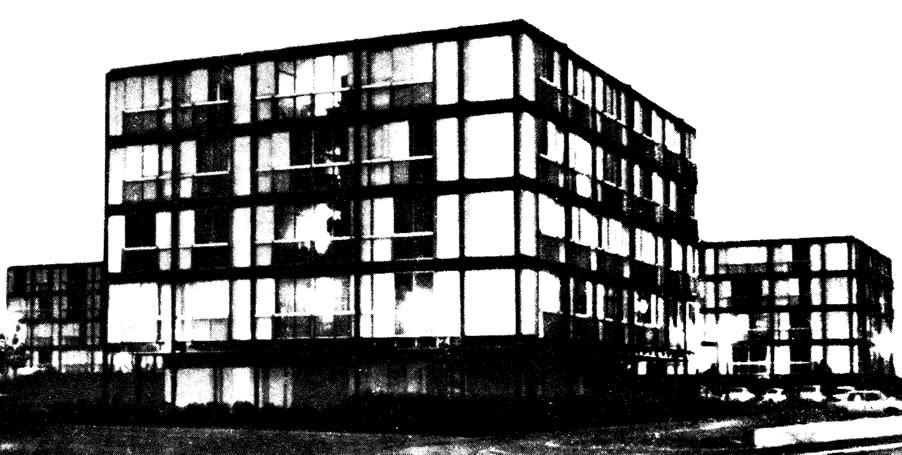Отдельно стоящий жилой блок