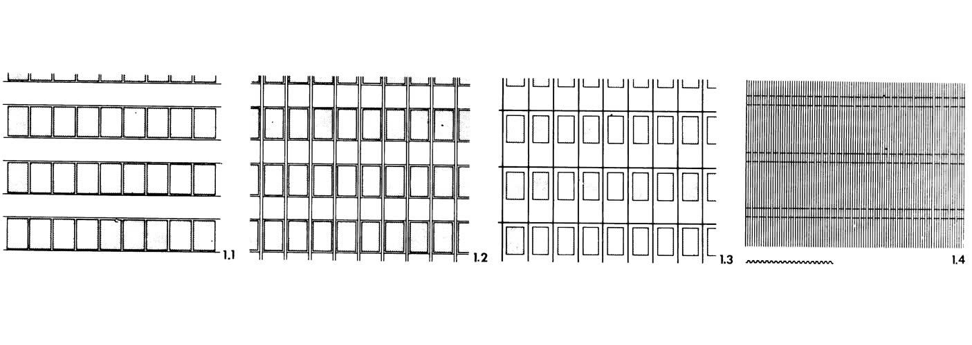 Рисунок 1. Основные типы стен