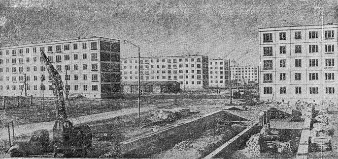 Рис. 34. Общий вид застроенного квартала в районе Хорошево—Мневники