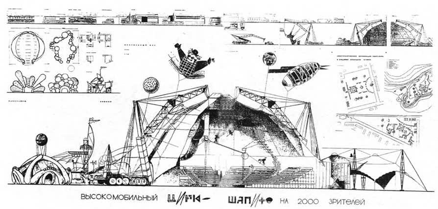 Диплом М. Альбановой и Л. Власовой Мобильный цирк-шапито, фрагменты