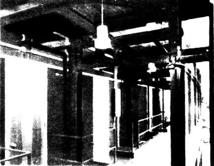 Внутренний вид коридора