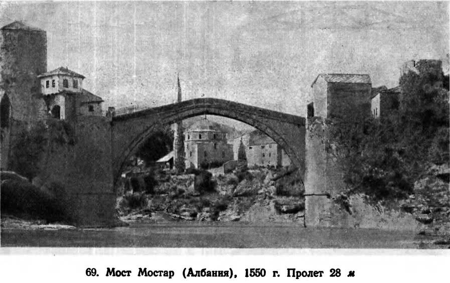 69. Мост Мостар (Албания), 1550 г.