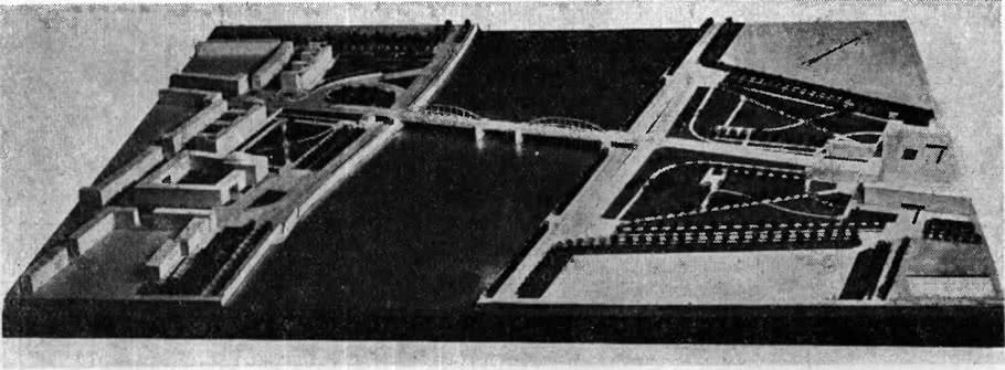 397. Мост имени Володарского. Макет