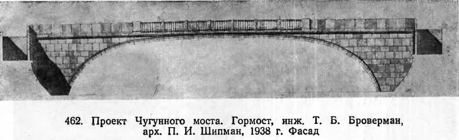 462. Проект Чугунного моста