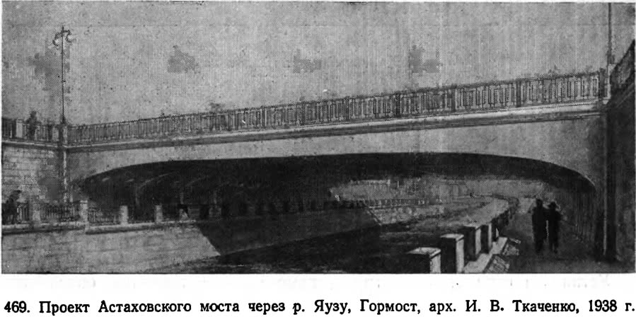 469. Проект Астаховского моста через р. Яузу
