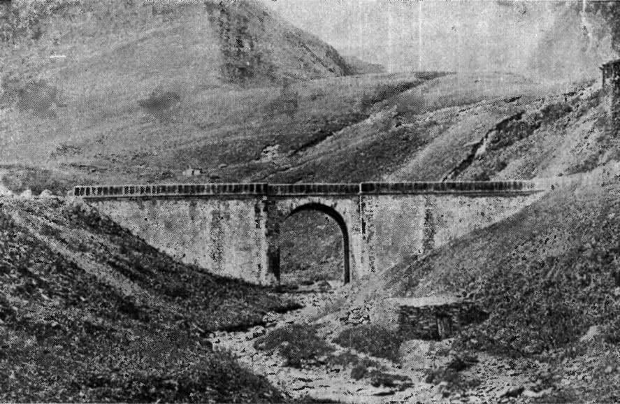 392. Байдарский каменный мост на Кавказе