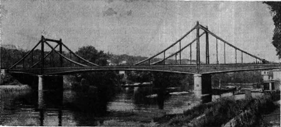 195. Цепной мост в Билленкуре