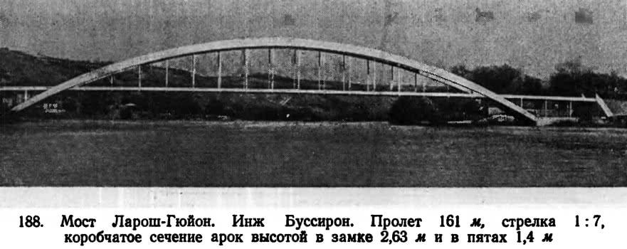 188. Мост Ларош-Гюйон. Инж. Буссирон