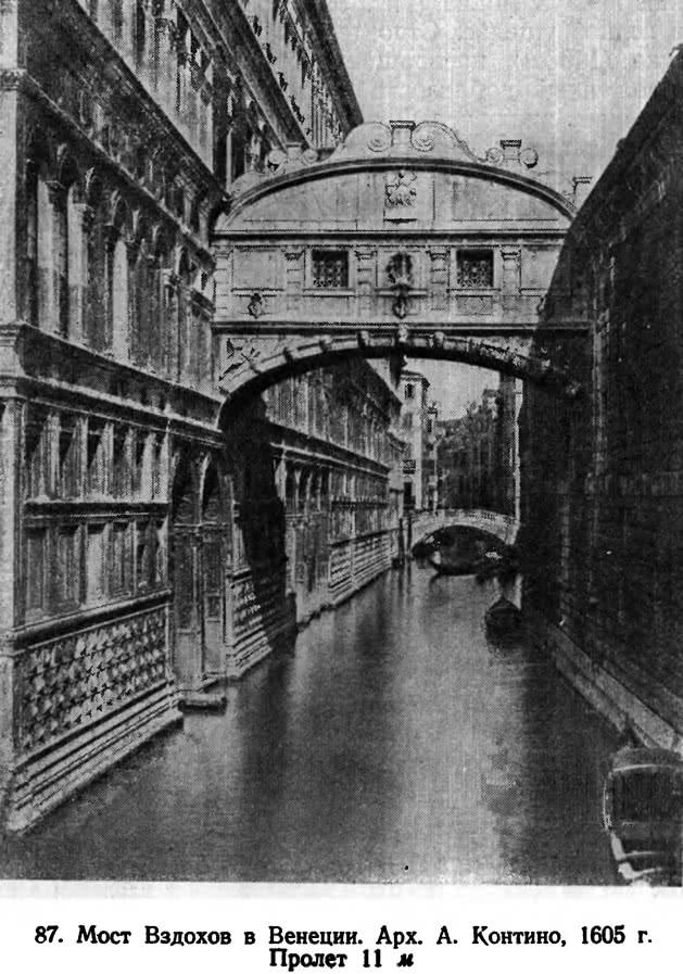 87. Мост Вздохов в Венеции
