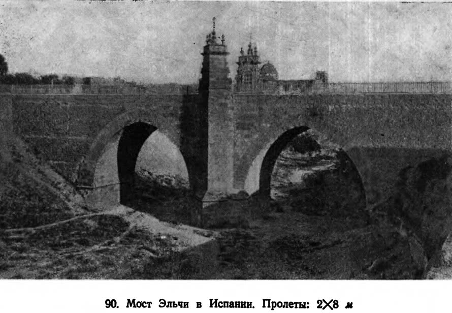 90. Мост Эльчи в Испании