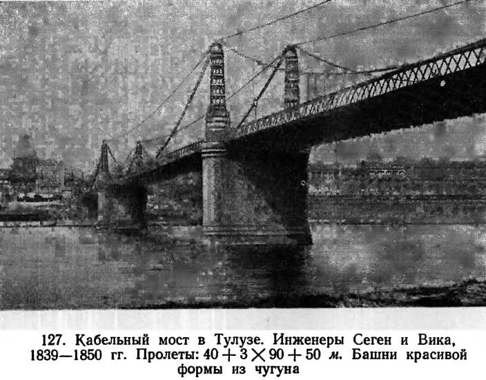127. Кабельный мост в Тулузе