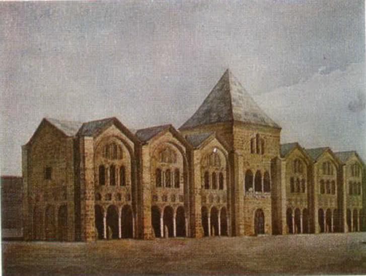 Большой (Западный) княжеский дворец. Опыт реконструкции автора