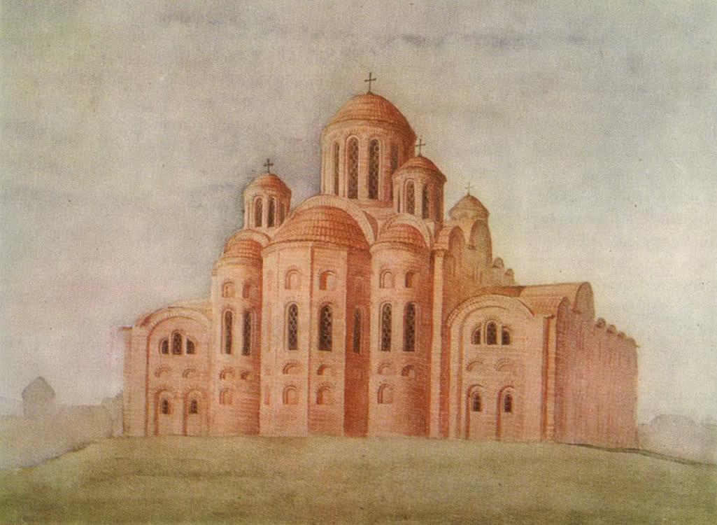 Десятинная церковь. Опыт реконструкции автора
