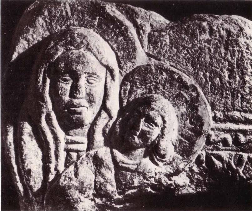 Десятинная церковь. Барельеф из тимпана над порталом