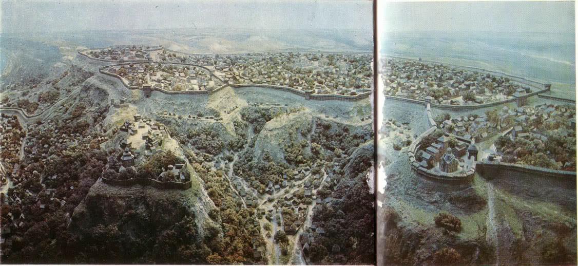 Реконструкция древнего Киева. Диорама
