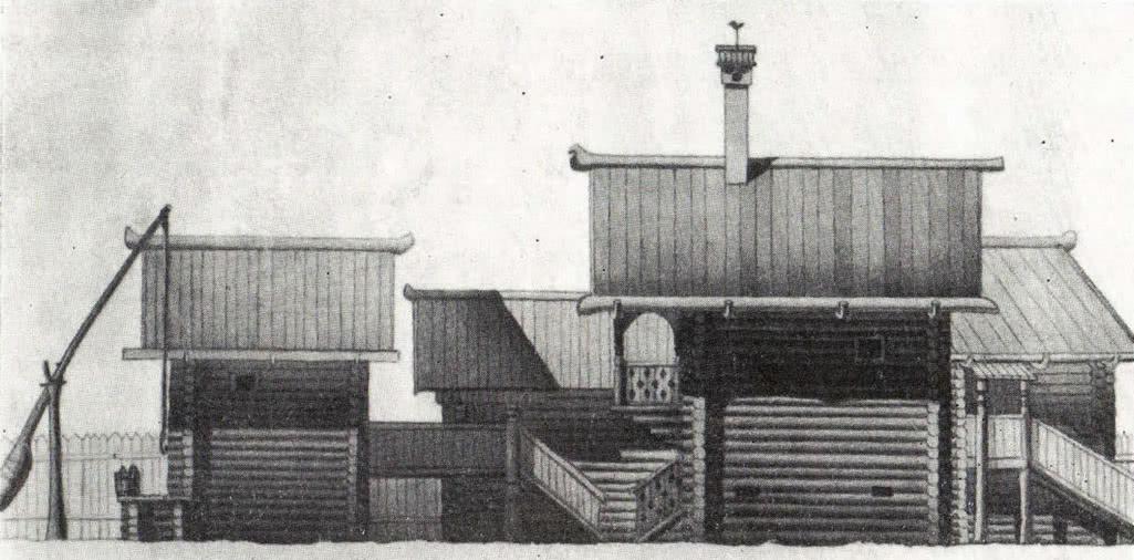 Застройка купеческой усадьбы. Опыт реконструкции В. А. Харламова