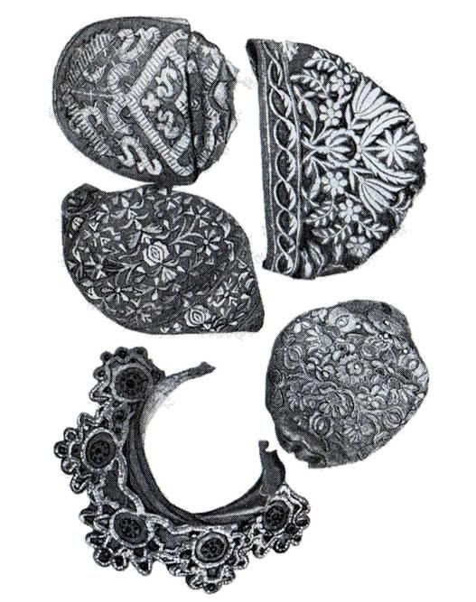 Художественное шитье. Женские головные уборы