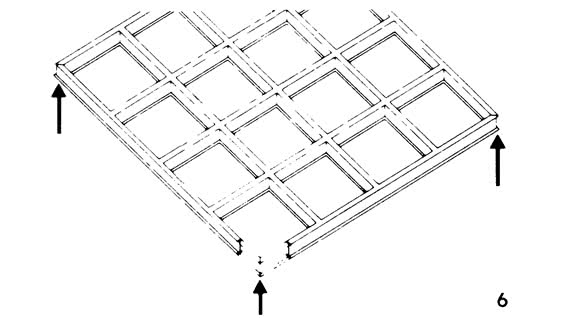 Рисунок 6. Решетчатая система балок