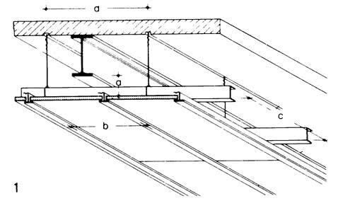 Размеры подвесных потолков