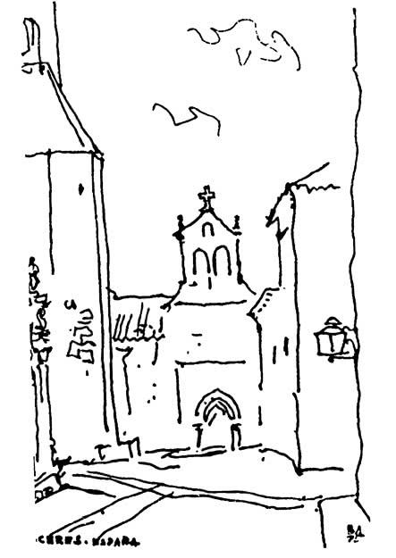 Касерес, Испания. Путевые зарисовки 1975 г.