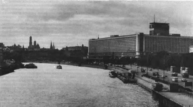 Гостиница «Россия» в Зарядье. Архитектор Д. Чечулин и другие, 1964—1968