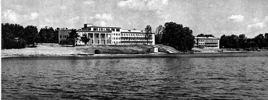 Санаторий «Нарочь» у озера Нарочь