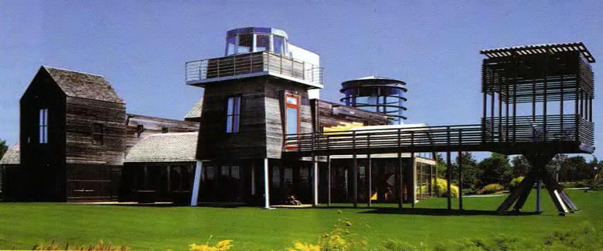 Дом в Лонг-Айленде. Д. Агрест, И. Гандельсонас, Нью-Йорк, США, 1994