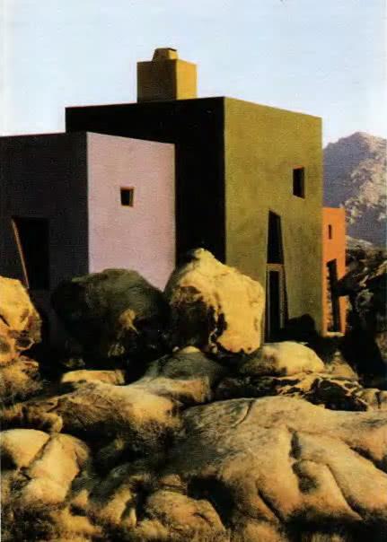 Жилой дом в Калифорнии. И. Швейтцер, 1990