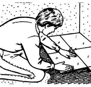 Укладка напольной плитки